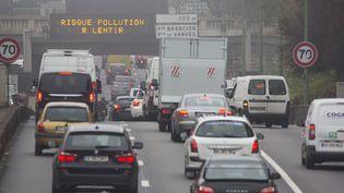Sur le périphérique parisien, le 2 novembre2015. (CAROLINE PAUX / CITIZENSIDE / AFP)