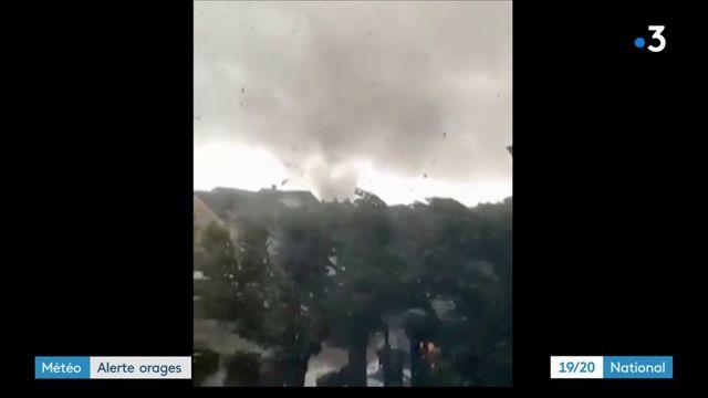 Intempéries : des tornades observées dans l'est de la France