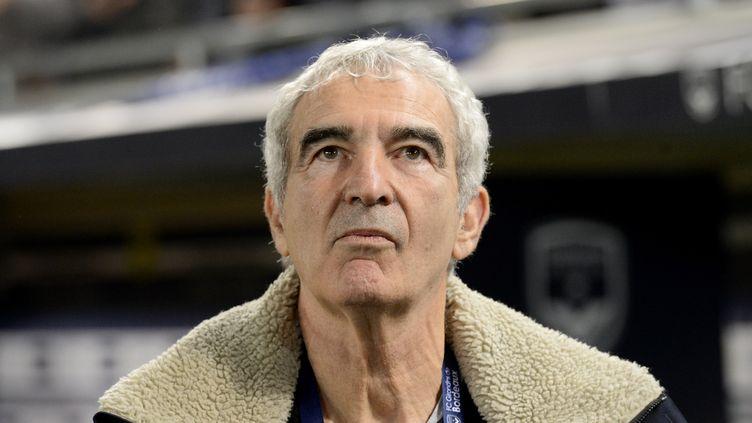 L'ancien sélectionneur des Bleus, Raymond Domenech, le 2 février 2020 à Bordeaux (Gironde). (NICOLAS TUCAT / AFP)