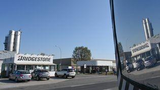 L'usine Bridgestone de Béthune (Pas-de-Calais), le 21 septembre 2020. (DENIS CHARLET / AFP)