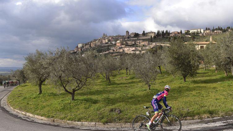 Valerio Conti, le coureur italien de la Lampre.  (DE WAELE TIM / TDWSPORT SARL)