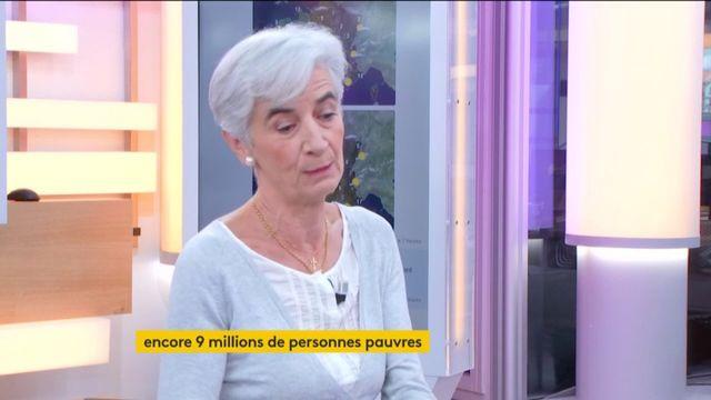 """Invitée de Jean-Paul Chapel, mercredi 15 novembre dans l'émission """": L'éco"""", Véronique Fayet, présidente du Secours Catholique est revenue sur le fait de s'habituer à avoir neuf millions de pauvres en France."""