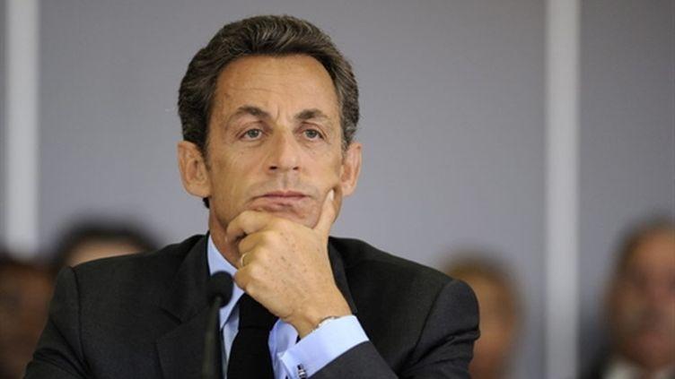 Nicoals Sarkozy, le 14 septembre 2010 (AFP - Eric Feferberg)