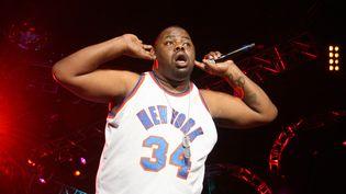Le rappeur new-yorkais Biz Markie sur scène en juillet 2006 au Essence Music Festival à Houston (Texas, Etats-Unis). (JOHNNY NUNEZ / WIREIMAGE / GETTY)