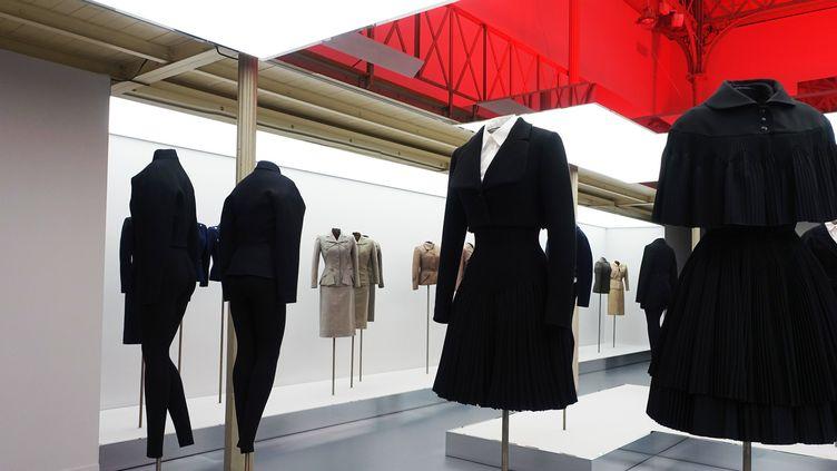 """L'exposition """"Adrian et Alaïa. L'art du tailleur"""", à Paris. Janvier 2019  (Corinne Jeammet)"""