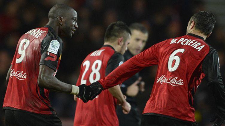 Yatabaré et Martins-Pereira, deux joueurs de Guingamp