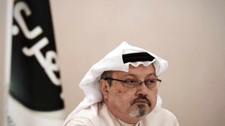 Le journaliste Jamal Khashoggi, le 15 décembre 2014 à Manama (Bahreïn). (AFP)