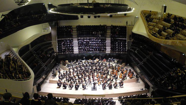 La générale à la Philharmonie de Paris le 13 janvier 2015  (LCA/Culturebox)