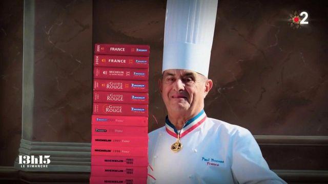 """VIDEO. """"Avant, un cuisinier était un domestique"""" : quand le chef triplement étoilé Paul Bocuse a encouragé ses confrères à s'émanciper dans les médias"""