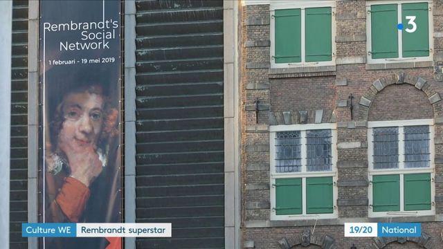 Art : hommage national à Rembrandt aux Pays-Bas