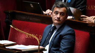 Gérald Darmanin, nouveau ministre de l'Intérieur du gouvernement de Jean Castex. (ANNE-CHRISTINE POUJOULAT / AFP)