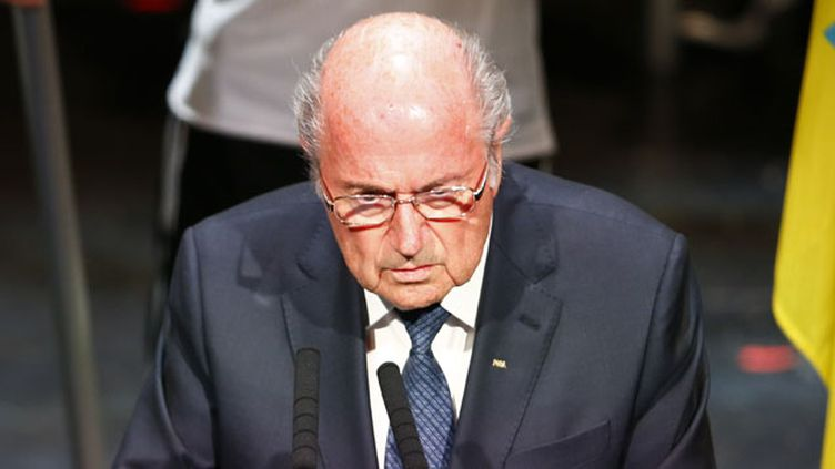 """(""""Je ne peux pas contrôler tout le monde"""", s'est défendu Sepp Blatter à l'ouverture du 65e congrès de la Fifa © MAXPPP)"""