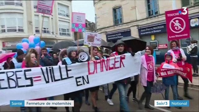 Maternités : mobilisation à Clermont et Bar-le-Duc