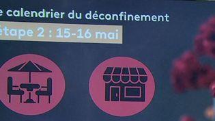 Déconfinement : un calendrier par étapes (FRANCE 2)