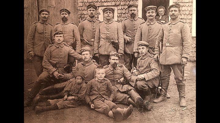 Les troupes allemandes installées dans les Vosges lors de la Première Guerre Mondiale (France 3 Grand Est)