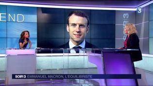 Emmanuel Macron a obtenu de nombreux soutiens à gauche. (FRANCE 3)