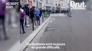 """VIDEO. Précarité étudiante : """"En un an, il n'y a rien qui a bougé"""" (BRUT)"""