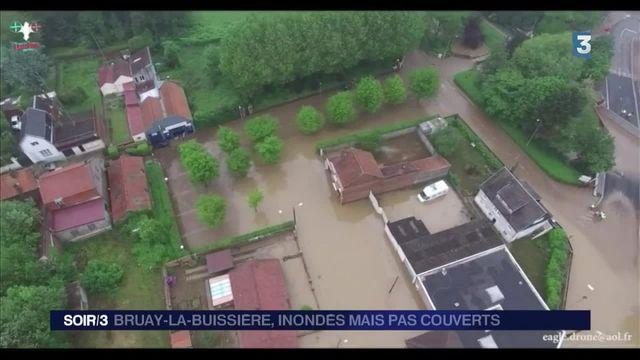 Intempéries : Bruay-la-Buissière, inondés mais pas couverts