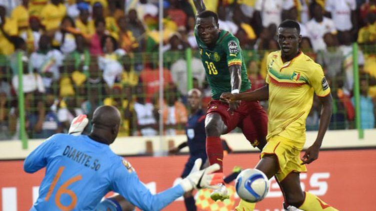 Le Cameroun a souffert face au Mali (ISSOUF SANOGO / AFP)