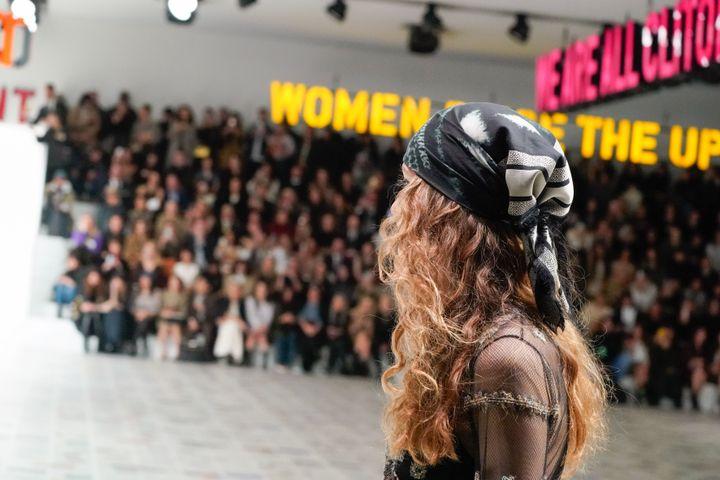 Défilé Dior pap féminin automne-hiver 2020-21, lors de la Paris Fashion Week, le 25 février 2020 (PETER WHITE / GETTY IMAGES EUROPE)