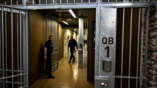 La prison de la Santé, à Paris, le 12 avril 2019. (STEPHANE DE SAKUTIN / AFP)