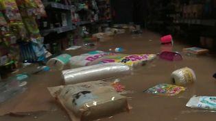 Gard : les orages font de nombreux sinistrés à Aigues-Vives (France 2)