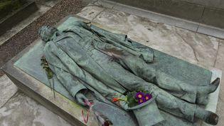 La tombe de Victor Noir. (leemage via AFP)