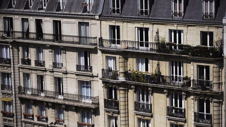 Façades d'immeubles à Paris (avril 2010) (AFP / Fred Dufour)