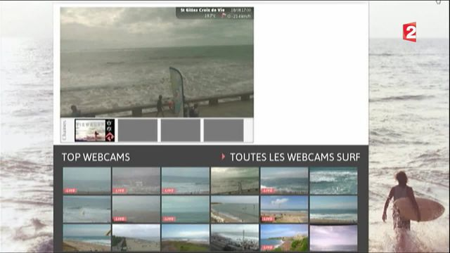 Technologies : ces webcams qui vous aident à choisir vos vacances