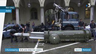 Un missile saisi par la police en italie (France 3)