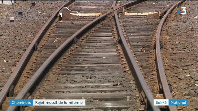 SNCF : la réforme ne passe toujours pas auprès des cheminots