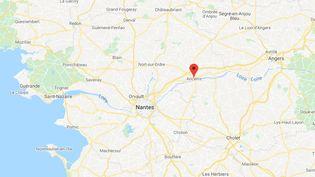Ancenis en Loire-Atlantique. (GOOGLE MAPS)