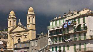 La ville de Bastia, en Haute-Corse, le 8 juillet 2019. (JEAN DANIEL SUDRES / JEAN DANIEL SUDRES / AFP)