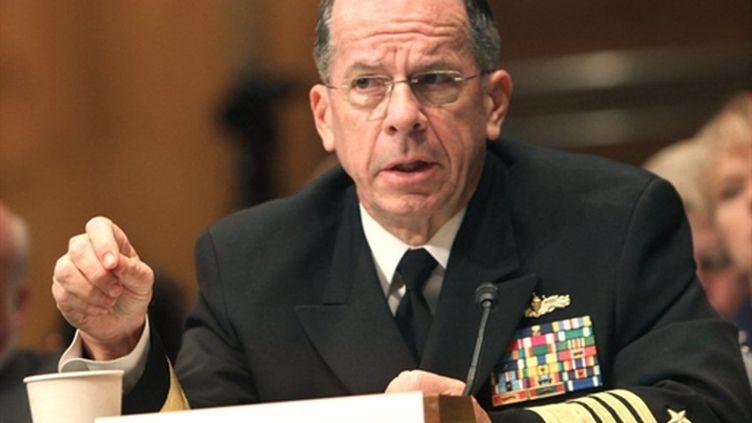 L'amiral américain, Michael Mullen le 17/06/10 (AFP Chris Kleponis)