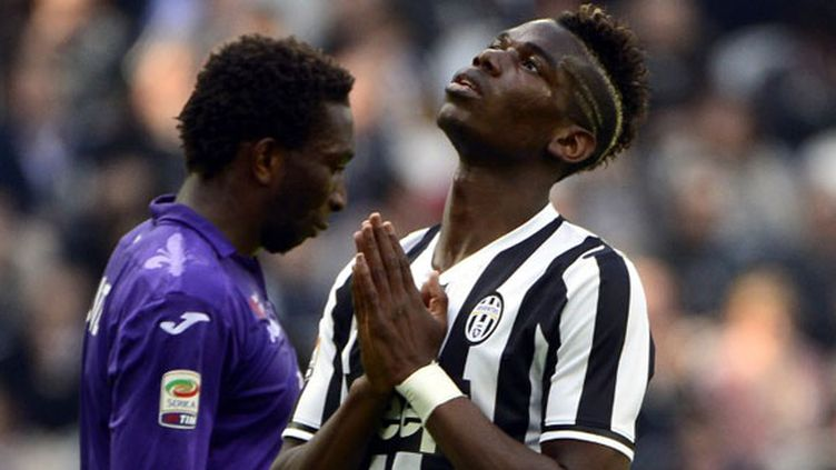 Le milieu de terrain de la Juventus Paul Pogba