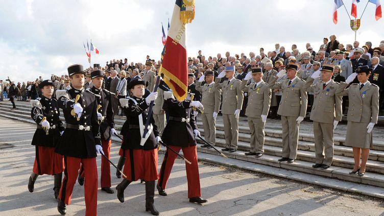Commémorations du 8 mai à Montpellier en 2010. AFP (PATRICK VALASSERIS / AFP)