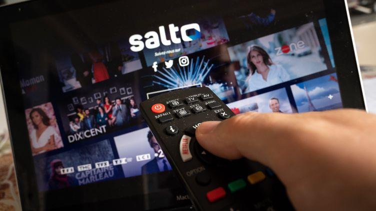 Lancement de laplateforme de vidéo à la demande Salto (France Télévisions, TF1, M6) le 20 octobre 2020 (RICCARDO MILANI / HANS LUCAS)