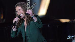 Julien Doré lors de la 30e édition des Victoires de la Musique, le 12 février 2021. (FRANCK CASTEL / MAXPPP)