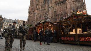 La Cathédrale de Strasbourg. Décembre 2016. (PATRICK HERTZOG / AFP)