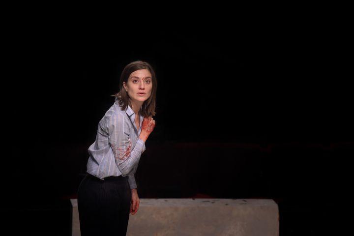 Georgia Scalliet dans Jules César (VINCENT PONTET)