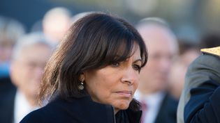 La maire de Paris Anne Hidalgo, le 11 novembre 2015 à Paris. (FRANCOIS PAULETTO / CITIZENSIDE.COM / AFP)