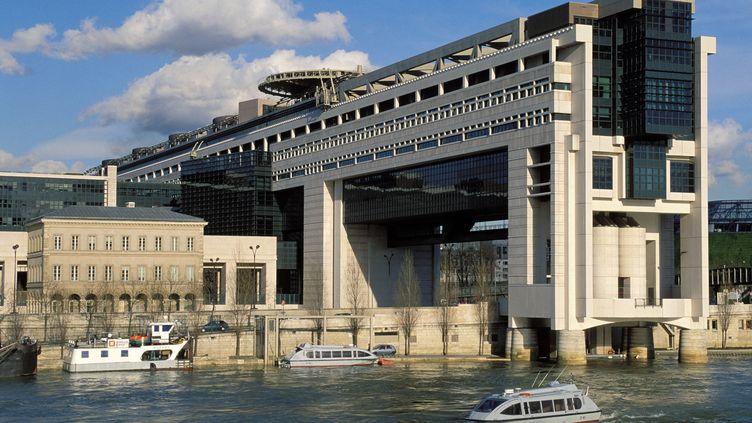 Le ministère de l'Éeconomie et des Finances dans le quartier Bercy à Paris. (ROSINE MAZIN / MAZIN ROSINE / AFP)