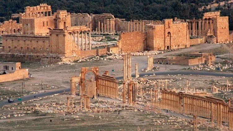 (Le site de Palmyre en Syrie, ici en 2009 © Maxppp)