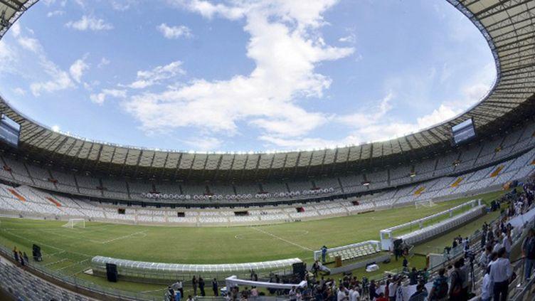 Le stade Mineiro de Belo Horizonte lors de son inauguration