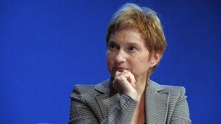 La présidente du Medef, Laurence Parisot, le 12 novembre 2012 à Paris. (ERIC PIERMONT / AFP)