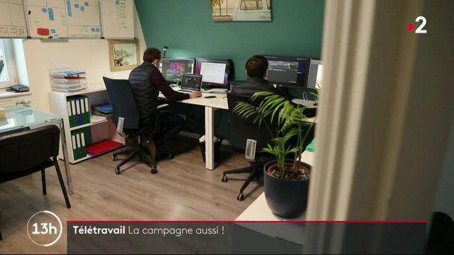 Télétravail : le succès des espaces de coworking