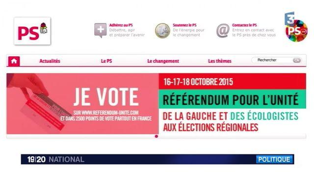 Le PS organise un referendum pour les militants