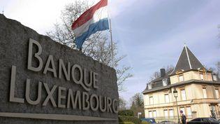Le siège de la Banque du Luxembourg, à Luxembourg, le 17 mars 2009. (FRANCOIS LENOIR / REUTERS)