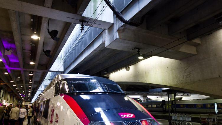 La SNCF a confirmé le lancement de ses lignes à bas coût en 2013. (RICHARD BORD / GETTY IMAGES EUROPE)