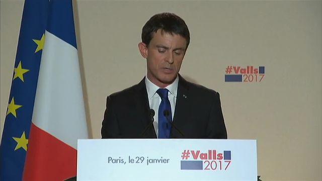 """Battu, Valls estime que """"les germes de la décomposition politique sont là"""""""